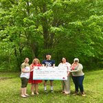 Arbor Day check presentation with American Chestnut Land Trust  Thumbnail