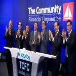 The Community Financial Corporation Nasdaq Opening Ceremony  Thumbnail
