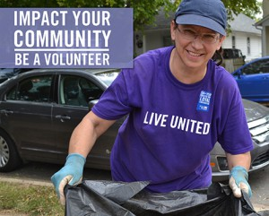 live united volunteer
