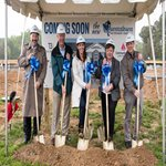 Community Bank of the Chesapeake supports Queenstown Veterinary Hospital in their new hospital project ground breaking.