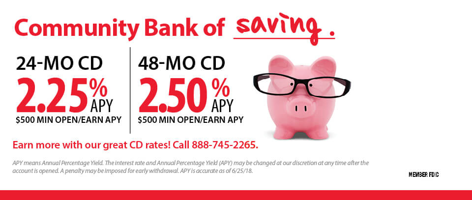 Community Bank of Saving_July